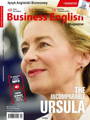 Business English Magazine - okładka